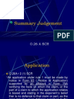 Summary Judgement(DEF)