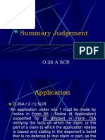 Summary Judgement(DEF)