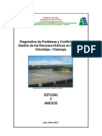 Estudio Final 2011 Chinchipe Chamaya
