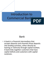 Introduction to Commercial Banking