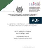 CARACTERISTICAS FENOTIPICAS DE LAS PRINCIPALES RAZAS BOVINAS