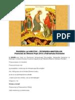 Pastorală de Sfintele Paşti 2014