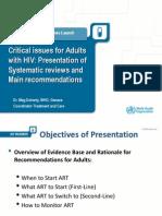 HIV WHO 2013