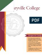 Maryville College Catalog