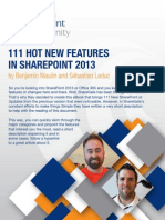 111 Hot New Features in Sp2013