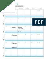 rm high school calendar