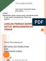 1. Metode Penelitian MPPI 2012