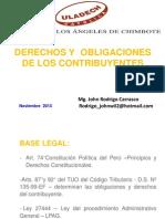 Clase 02 - Derechos y Obligaciones Del Contribuyente
