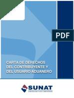 Carta Derechos Del Contribuyente SUNAT-ADUANAS