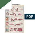 Muestrario de Puntadas y Ejemplos de Uso