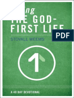 Living the God-First Life Sample