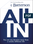All In by Mark Batterson sample