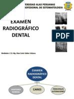Examen Radiografico Dental Medicina II