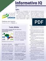 Informativo IQ - Agosto de 2012