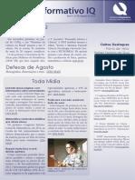 Informativo IQ - Agosto de 2013