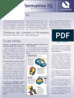 Informativo IQ - Janeiro e Fevereiro de 2013