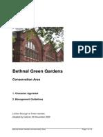 Bethnal Green Gardens Conservation Area