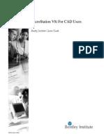 MicroStationV8iForCADUsers TRN012280-1 0001