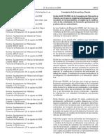 2008.10.08 or Homologación y Certificación Formación Profesorado