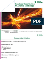 Webinar - Hazardous Area Classification in US and Europe