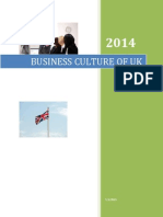 Business Culture Report of UK