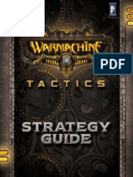 WARMACHINE Tactics Strategy Guide