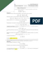 Corrección Segundo Parcial Cálculo III, 3 de diciembre de 2014 mañana