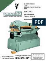 piranha P90-1990 Manual