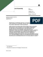 UN secret detentions report 2010