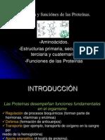 proteinas funcion y estructura
