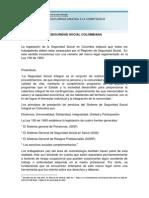 Tema 3_Seguridad Social Colombiana