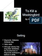 to kill a mockingbird intro