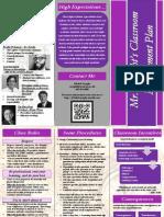 flashy classroom managment brochure 10