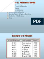 3 Relational Model