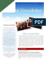 Advent Newsletter