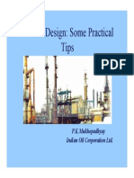 Process Design_Some Practical Tips
