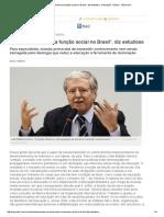 A Escola Perdeu Sua Função Social No Brasil