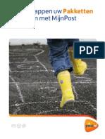 Stappenkaart MijnPost Pakketten PostNL Tcm10 10339