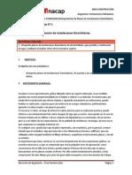 Interpretación de Planos de Instalaciones Domiciliarias según RIDAA