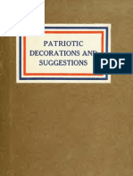 (1918) Patriotic Suggestions and Decorations