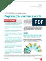 Regionalización busca norte