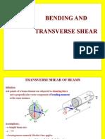 Bending and Transverse Tension