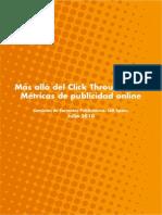 IAB. Estudio de Métricas de Publicidad Online