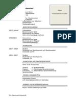 Modelo Cv Cronológico en Aleman (1)