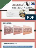 Exposicion Aobre Inteligencia Linguistico -Verbal