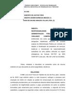 Juris TRT Responsabilidade Subsidiária Administração Pública