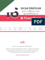 eBook 16 Dicas Praticas Para Melhorar Suas Apresentacoes No PowerPoint