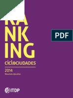 Ranking Ciclociudades