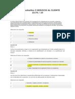 Lección Evaluativa 3 Servicio Al Cliente