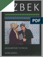 Uzbek- An Elementary Textbook